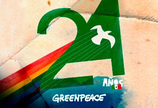 24 aniversario Greenpeace México